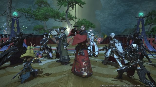 Final Fantasy XIV Getting Competitive Mahjong