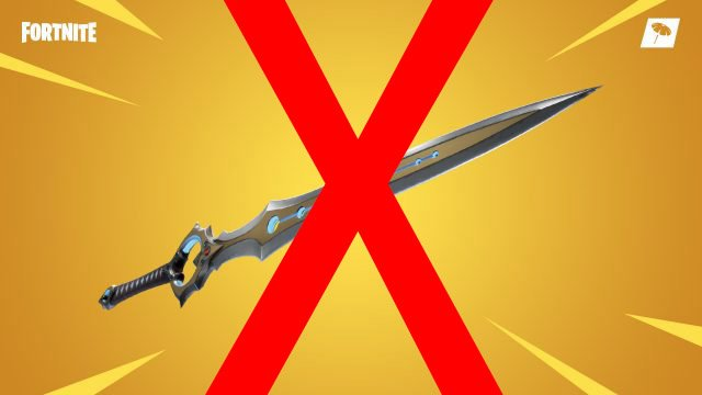 'Fortnite' Infinity Blade Is Getting Nerfed