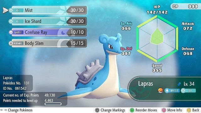 Pokemon Let's Go Lapras – How to Get It lapras
