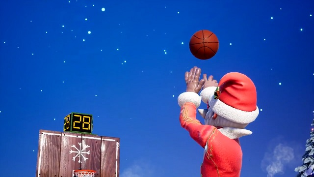 NBA 2K Playgrounds 2 Christmas event is here.