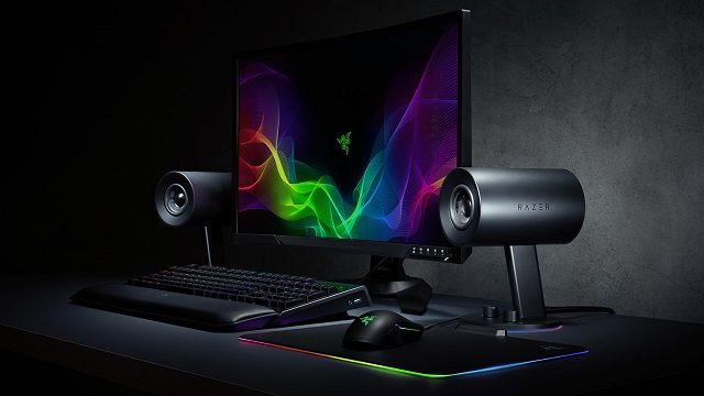 Razer Nommo Chroma Review lights