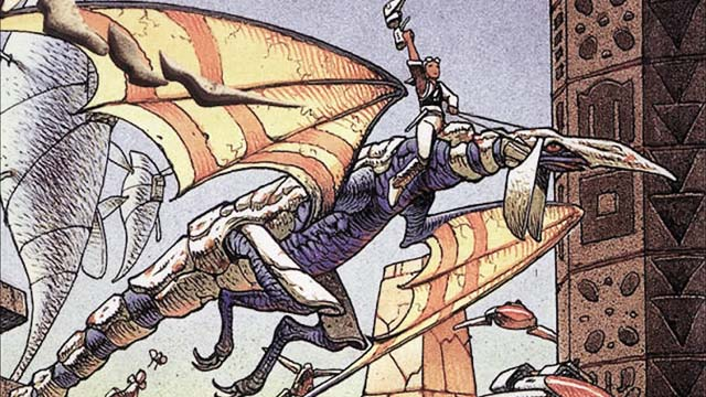 Panzer Dragoon Remake announced, art from the original Panzeer Dragoon.