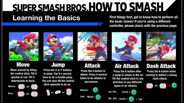 smash bros ultimate manual