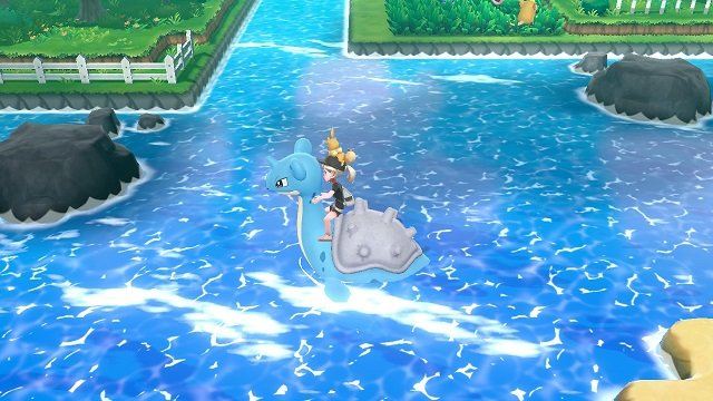 Pokemon Let's Go Lapras – How to Get It lapras surf