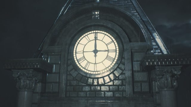 Resident Evil 2 Remake Clock Tower