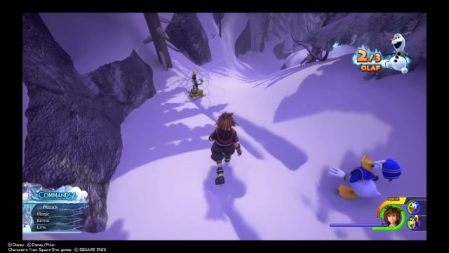 Kingdom Hearts 3 Olaf Pieces location body