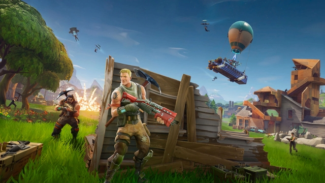 Fortnite Search Between a Giant Rock Man a Crowned Tomato and an Encircled Tree
