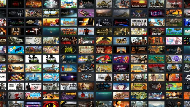 How many games are on Steam