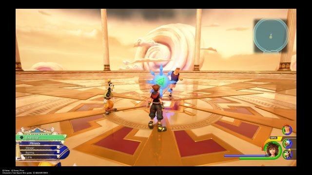 Olympus Coliseum in Kingdom Hearts 3