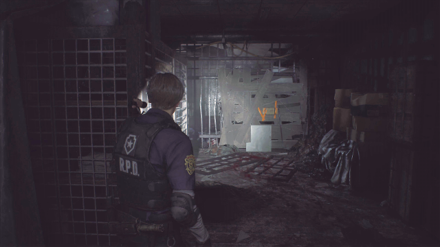 Resident Evil 2 C4 Blocked Area