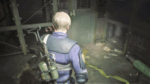 Resident Evil 2 Supplies Storage Room puzzle 5