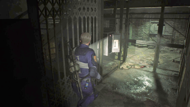 Resident Evil 2 Supplies Storage Room puzzle 6