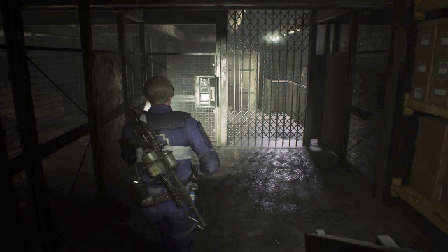 Resident Evil 2 Supplies Storage Room puzzle 7