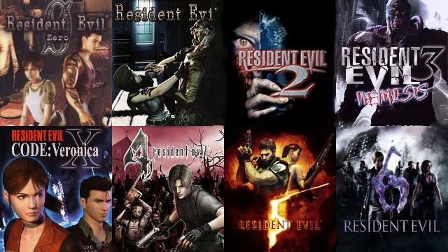 Resident Evil Play Order What Order Should I Play The Re Series