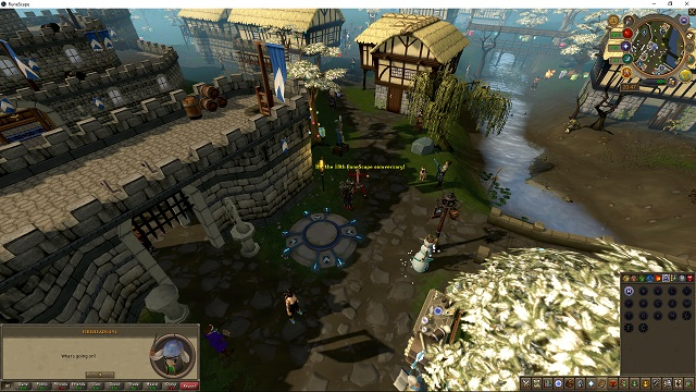 RuneScape Birthday celebrations for its 18th year online.
