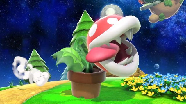 Smash Ultimate Piranha Plant email code problem