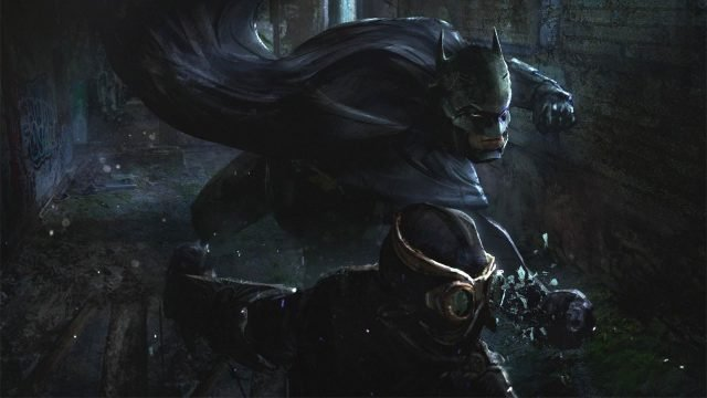 Batman Court of Owls game art