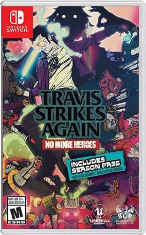Box art - Travis Strikes Again: No More Heroes