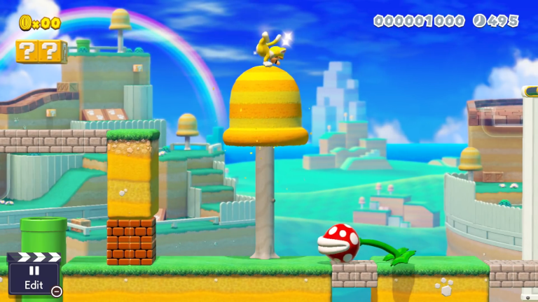 super mario maker 2 features
