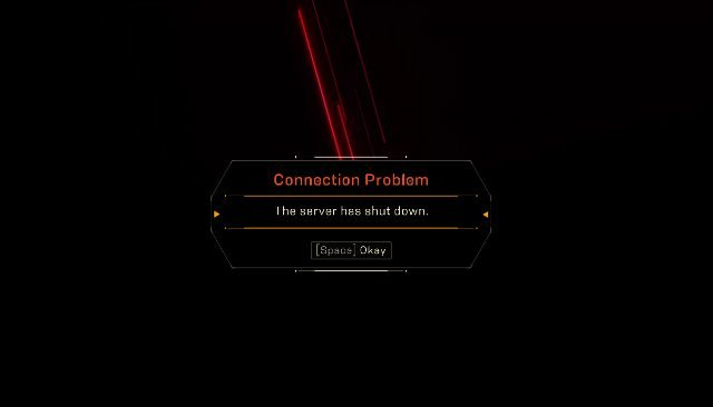 Anthem Connection Problem The server has shut down error fix