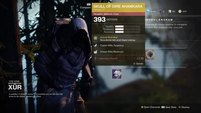Xur today Destiny 2 inventory
