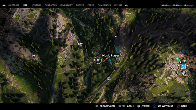 Far Cry New Dawn Music player locations