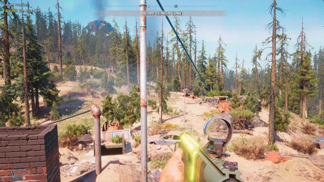 Far Cry New Dawn Target Practice treasure hunt zip line