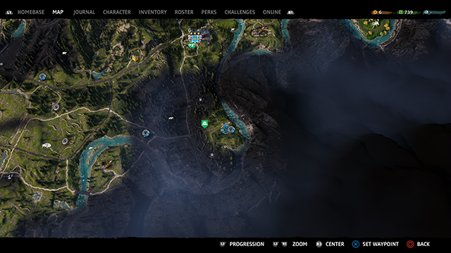Far Cry New Dawn music player map 3