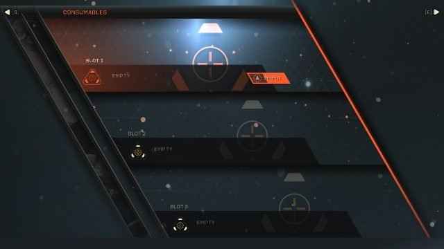 How to Equip Anthem Consumables