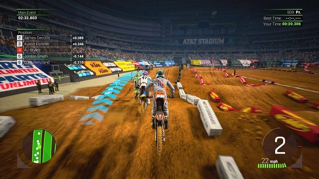 Monster Energy Supercross 2 Review