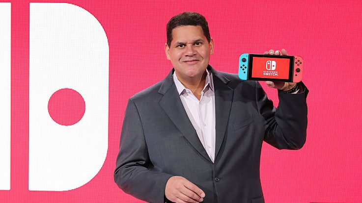 Nintendo figurehead Reggie Fils-Aime is retiring, being replaced by Bowser