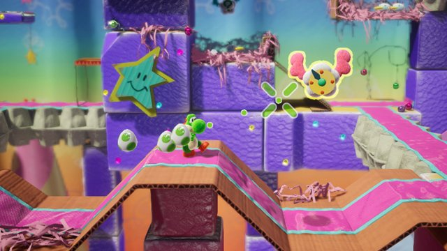 Yoshi's Crafted World Switch Demo