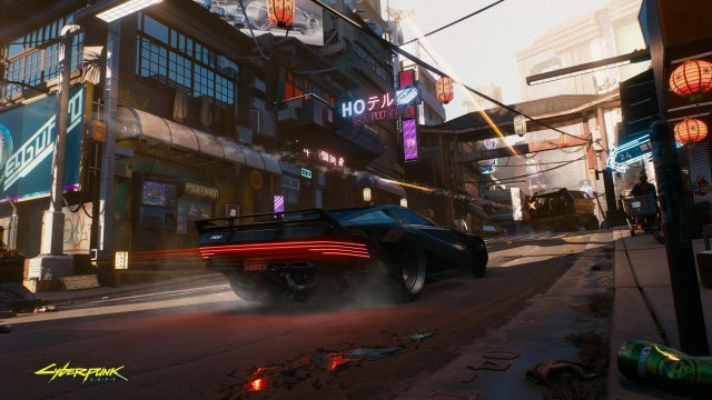 Cyberpunk 2077 400 people