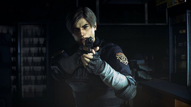 Resident Evil 2 DLC purple gas zombies