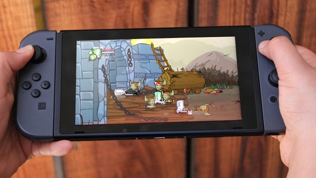 Castle Crashers confirmed for PS4 and Switch