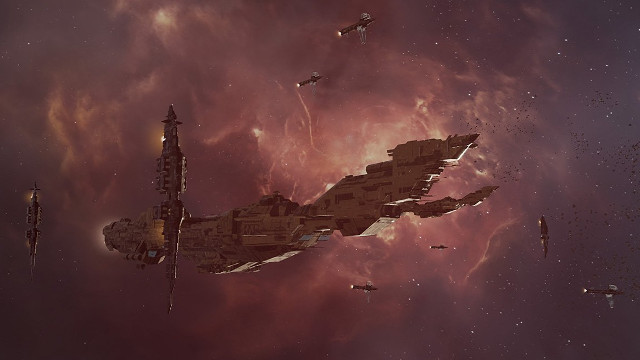 Eve Aether Wars is a 10,000-player deathmatch hosted by the devs of