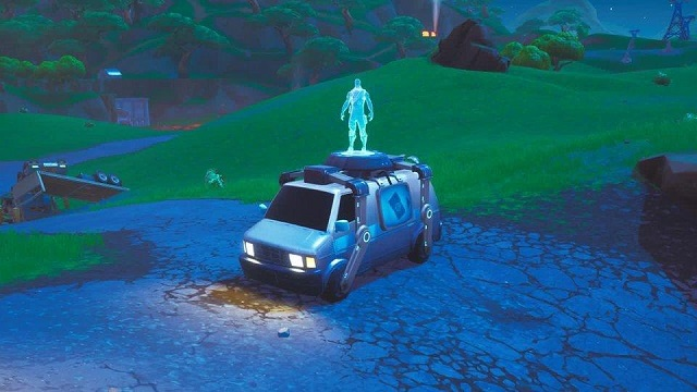 Fortnite respawn system second chance van
