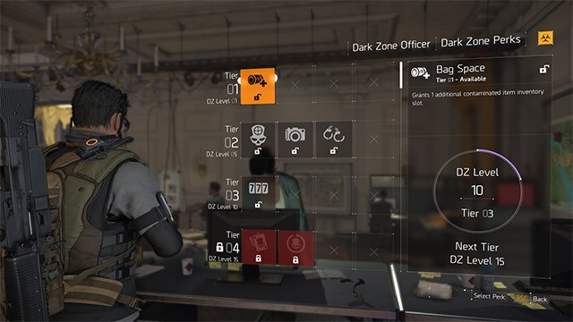 The Division 2 Best Dark Zone Perks