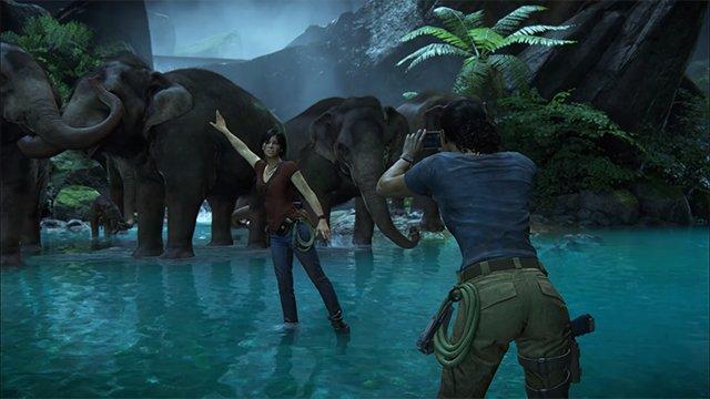 uncharted the lost legacy elephants