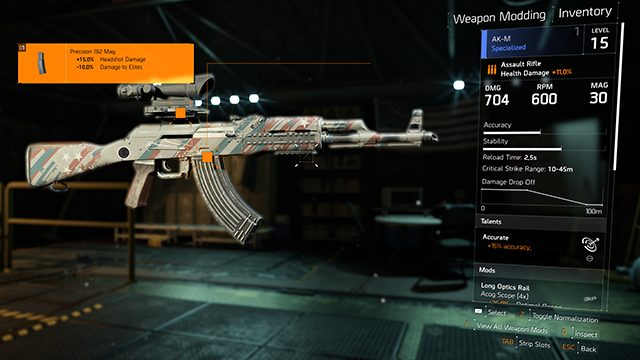 The Division 2 Mods | What are Weapon, Skill, and Gear Mods