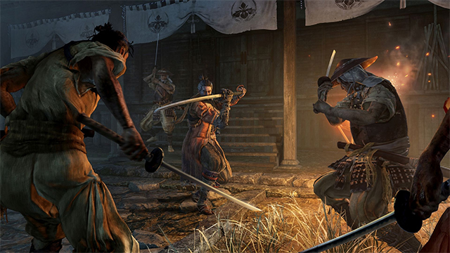 Sekiro Shadows Die Twice gameplay trailer