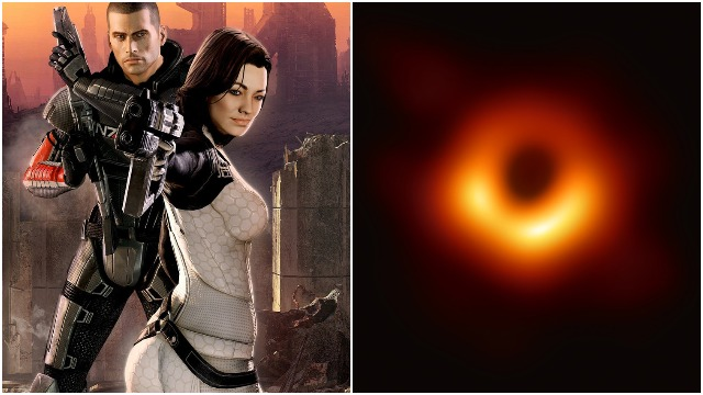 Mass Effect 2 predicted the black hole photo back in 2010