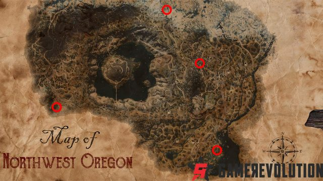 Days Gone - Crater Lake and Highway 97 Ambush Camp locations
