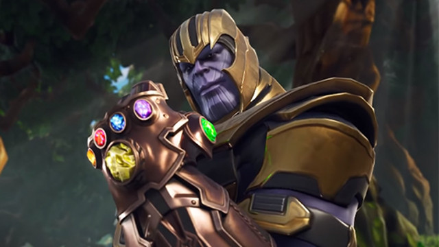 Fortnite Infinity Gauntlet LTM
