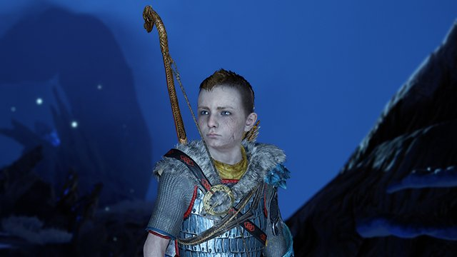 God of War atreus one year later