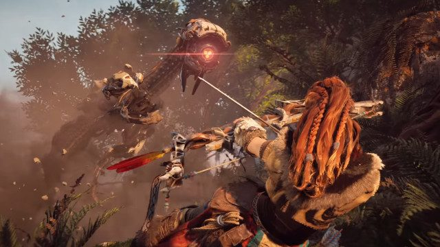 new Horizon Zero Dawn game, dinosaur games