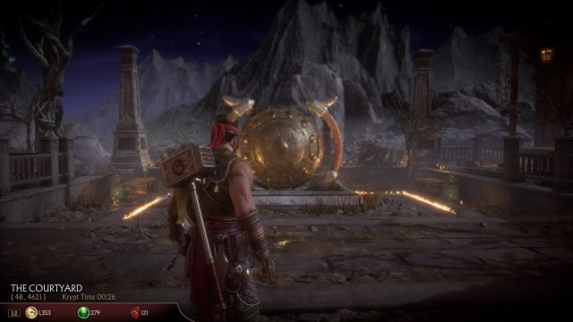 Mk11 - Gong that opens wooden gates