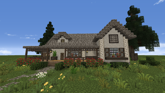 minecraft mansion ideas easy