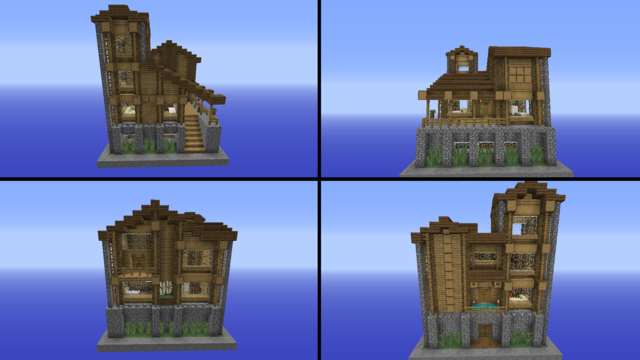 Minecraft House Ideas 12 Houses That You Can Build In Minecraft Gamerevolution