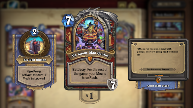 Dr. Boom Mad Genius